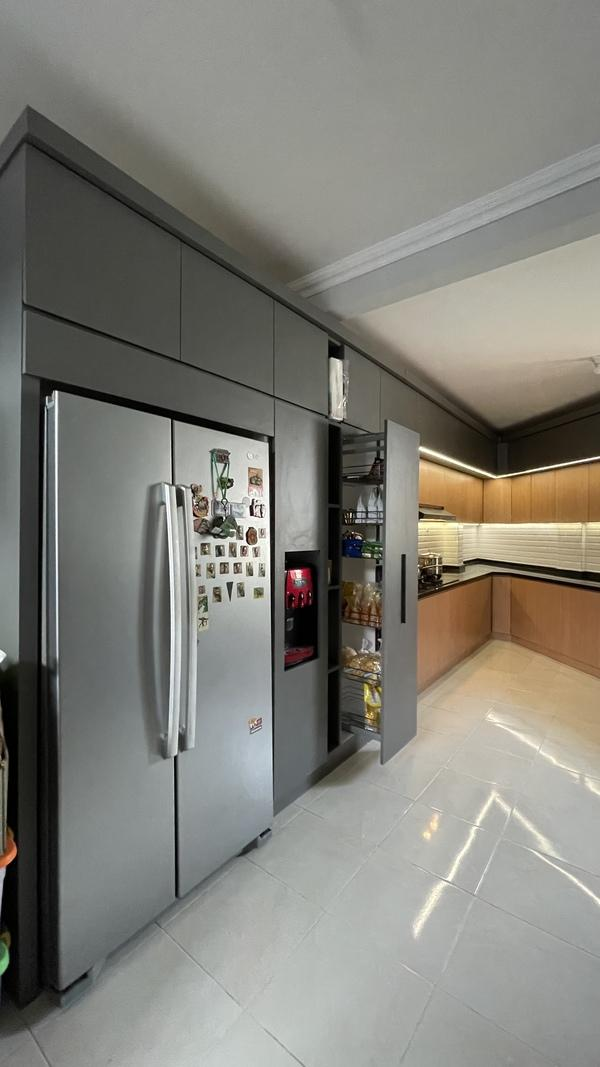 Project Belia Kitchen Set - Dapur Minimalist Custom - Duta Bintaro - Mr. Agus2