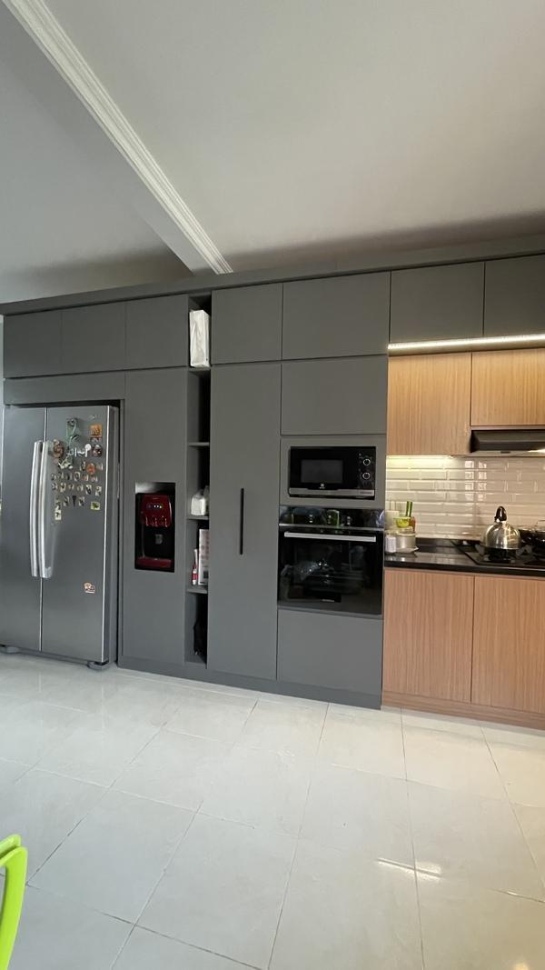 Project Belia Kitchen Set - Dapur Minimalist Custom - Duta Bintaro - Mr. Agus3