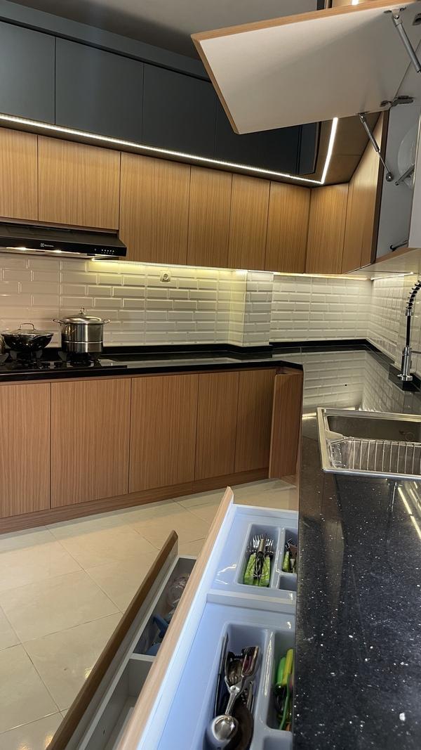 Project Belia Kitchen Set - Dapur Minimalist Custom - Duta Bintaro - Mr. Agus4