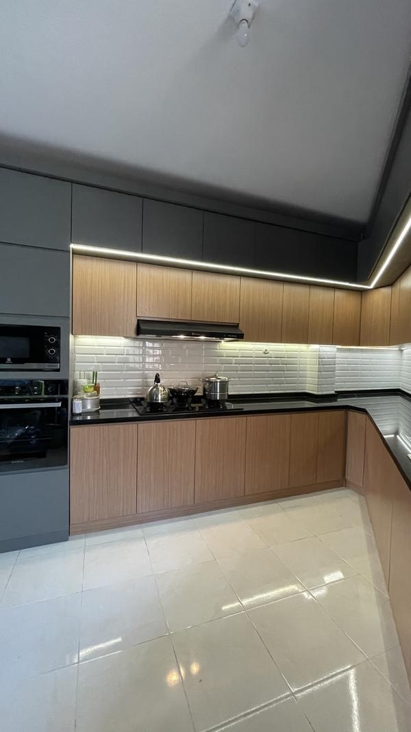 Project Belia Kitchen Set - Dapur Minimalist Custom - Duta Bintaro - Mr. Agus6
