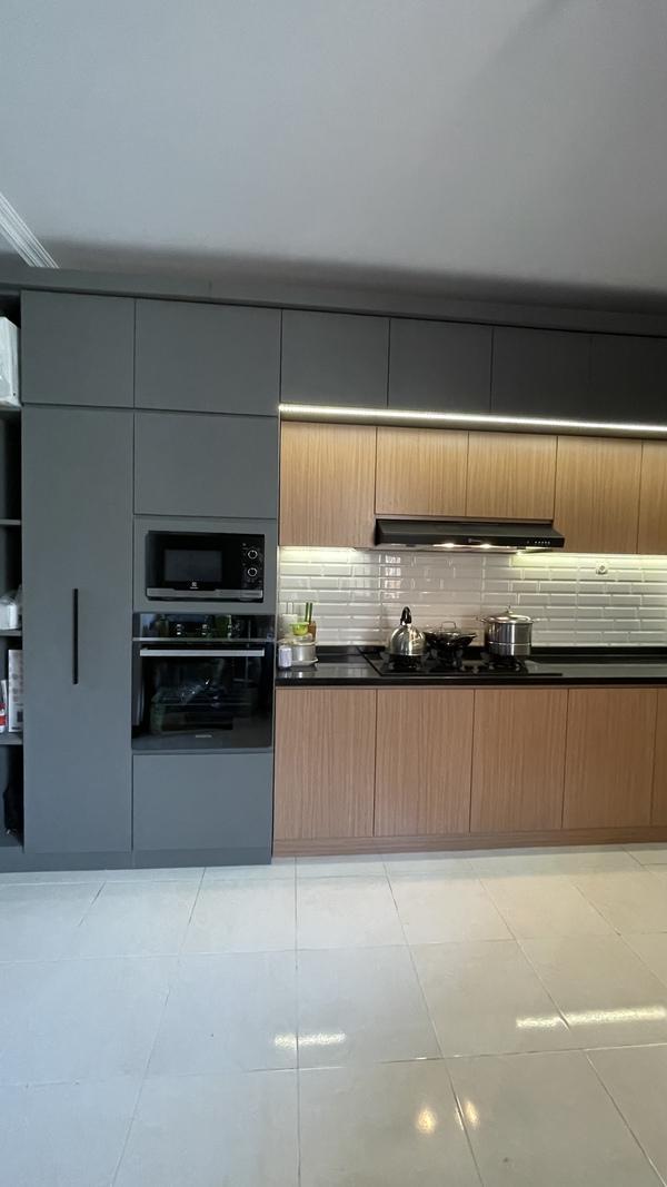 Project Belia Kitchen Set - Dapur Minimalist Custom - Duta Bintaro - Mr. Agus7