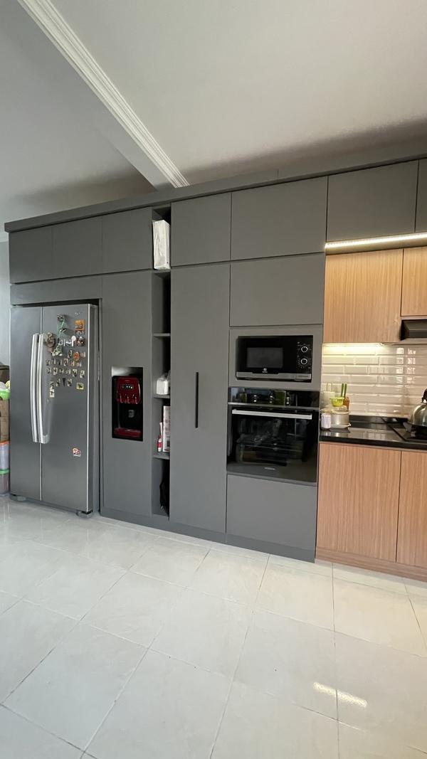 Project Belia Kitchen Set - Dapur Minimalist Custom - Duta Bintaro - Mr. Agus8